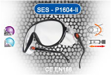 Safety Eye protection Spectacles CE EN 166