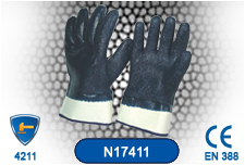 Hand Protection Nitrile Dipped