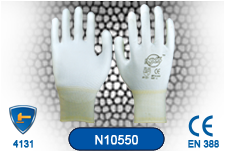 Hand Protection PU Coated