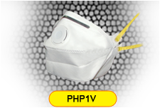 Horizontal Fold Flat Disposable Respirator Mask Valved FFP1 CE EN149
