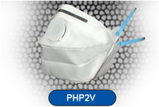 Horizontal Fold Flat Disposable Respirator Mask Valved FFP2 CE EN149