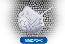 Disposable Vaved Respirator Mask FFP2 Carbon CE EN149